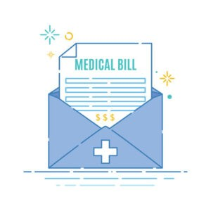 high medical bill from insurance company