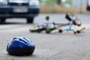 Bike accident in Las Vegas